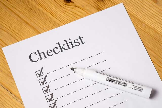 Your October Home Checklist